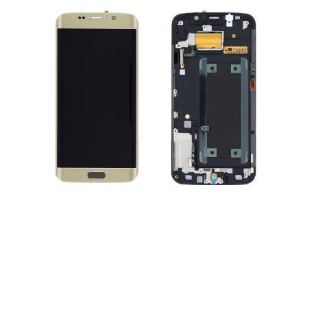 PANTALLA LCD + TACTIL GALAXY S6 EDGE SM-G925 G925F DORADA ORO