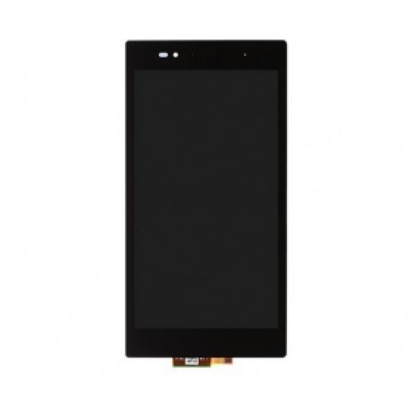 REPUESTO PANTALLA LCD + TACTIL CON MARCOXPERIA Z ULTRA NEGRA