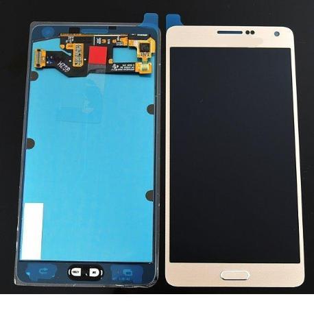 PANTALLA LCD + TACTIL GALAXY A7 A700F - ORO DORADO