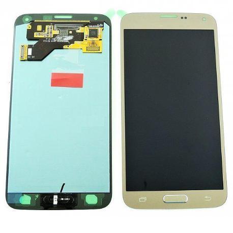 PANTALLA LCD DISPLAY + TACTILPARAGALAXY S5 NEO G903F - ORO - SERVICE PACK