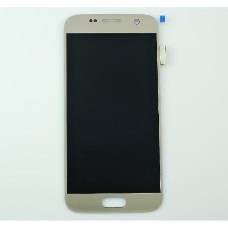 PANTALLA LCD DISPLAY + TACTILPARAGALAXY S7 SM-G930F - ORO
