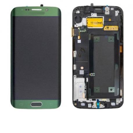 PANTALLA LCD + TACTIL GALAXY S6 EDGE SM-G925F -  VERDE