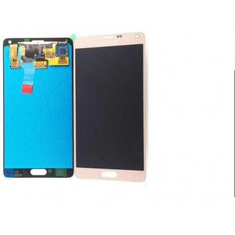 PANTALLA LCD DISPLAY + TACTILPARAGALAXY NOTE 4 SM-N910F  - ORO