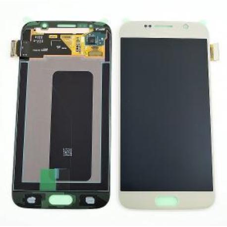 PANTALLA LCD DISPLAY + TACTILPARAGALAXY S6 I9600 SM-G920 - ORO - SERVICE PACK