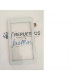 Repuesto Pantalla Tactil para Szenio Tablet PC 7100DCII Blanca / Recuperada