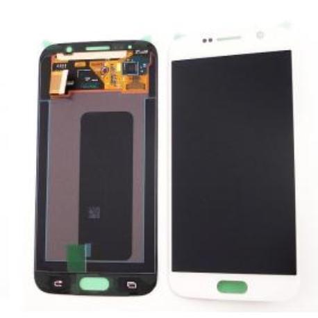 PANTALLA LCD DISPLAY + TACTILPARAGALAXY S6 I9600 SM-G920  - BLANCA - SERVICE PACK