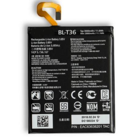 BATERIA BL-T36 PARA  X410 X SERIES X4 LTE/ LM-X410 K11
