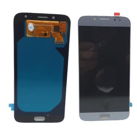 PANTALLA LCD DISPLAY + TACTIL PARAJ730 J7 2017 - PLATA / AZUL COMPATIBLE OLED