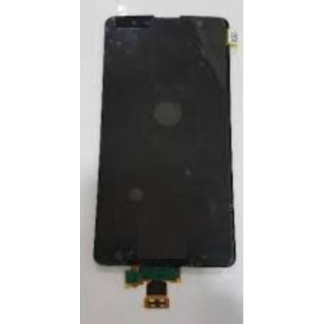 PANTALLA LCD DISPLAY + TACTIL CON MARCO PARA  STYLUS 2 PLUS K530 K557 - NEGRA