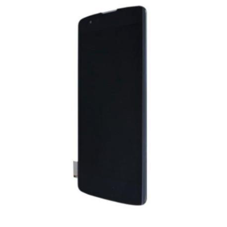 PANTALLA LCD DISPLAY + TACTIL CON MARCO PARA  K8 K350N - NEGRA