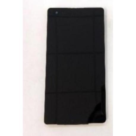 PANTALLA LCD DISPLAY + TACTIL CON MARCO PARA  X STYLE K200 - NEGRA
