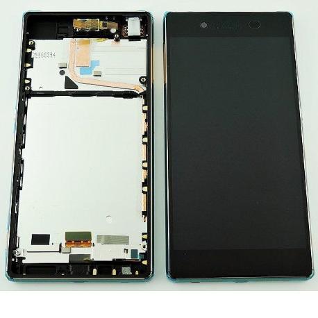 REPUESTO PANTALLA LCD + TACTIL CON MARCO PARAXPERIA Z3 PLUS, XPERIA Z4,E6553 - COBRE