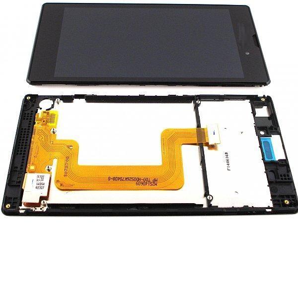 PANTALLA LCD + TACTIL CON MARCO PARAXPERIA T3 D5102 D5103 D5106 M50W  - NEGRO
