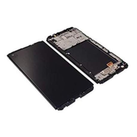 PANTALLA LCD DISPLAY + TACTIL CON MARCO PARA  V20 - NEGRA