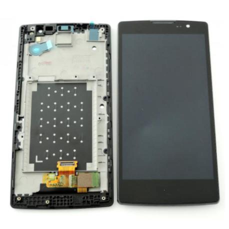 REPUESTO PANTALLA LCD + TACTIL CON MARCO  SPIRIT H420 4G LTE NEGRO TITAN