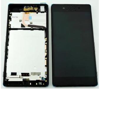 PANTALLA LCD + TACTIL CON MARCOXPERIA Z3 PLUS E6533 DUAL  XPERIA Z4 - NEGRA