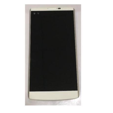 PANTALLA LCD DISPLAY + TACTIL CON MARCO PARA  V10 - BLANCA