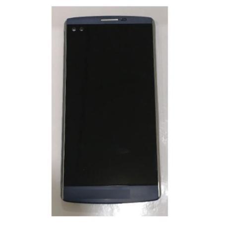 PANTALLA LCD DISPLAY + TACTIL CON MARCO PARA  V10 - NEGRO CON EMBELLECEDORES
