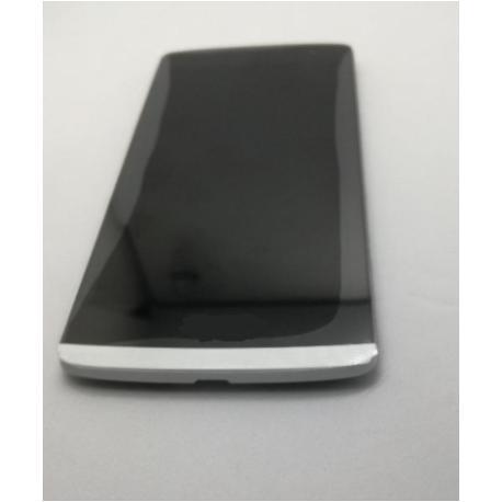 PANTALLA LCD DISPLAY + TACTIL + MARCO PARA  LEON H340 H320 4G LTE -  BLANCO