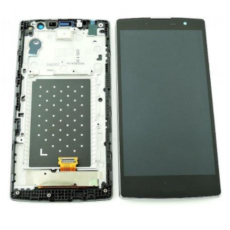 REPUESTO PANTALLA LCD + TACTIL CRISTAL CON MARCO MAGNA H500F TITAN