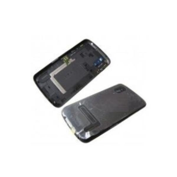TAPA TRASERA DE BATERIA PARA   NEXUS 4 E960 NEGRA CON NFC Y SIN BOTONES