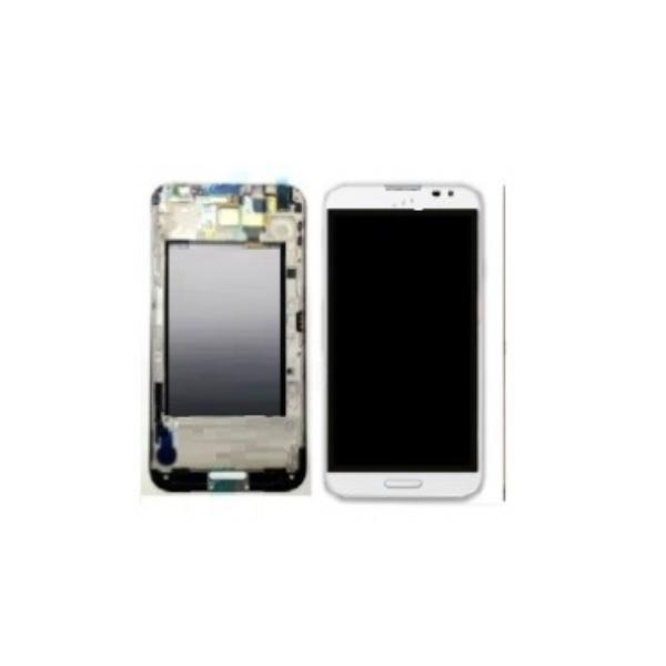PANTALLA LCD DISPLAY + TACTIL CON MARCO CON  E986 OPTIMUS G PRO  - BLANCA