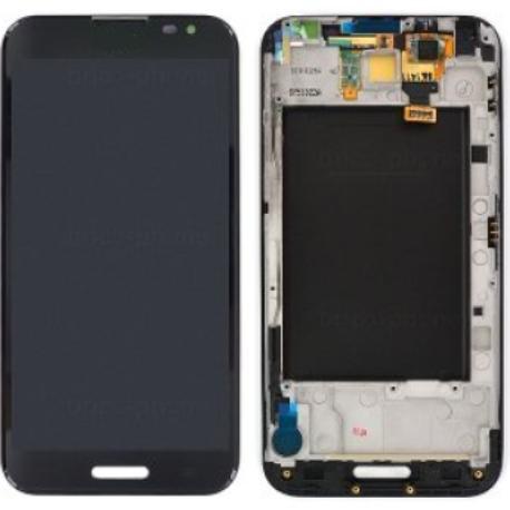 PANTALLA LCD DISPLAY + TACTIL CON MARCO CON  E986 OPTIMUS G PRO - NEGRA