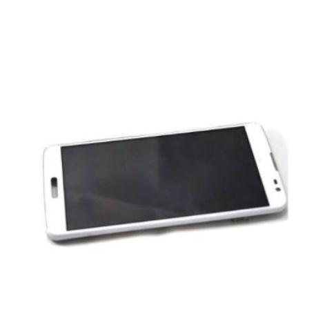 PANTALLA TACTIL + PANTALLA  LCD DISPLAY CON MARCO  G PRO LITE D680, D682 - BLANCO
