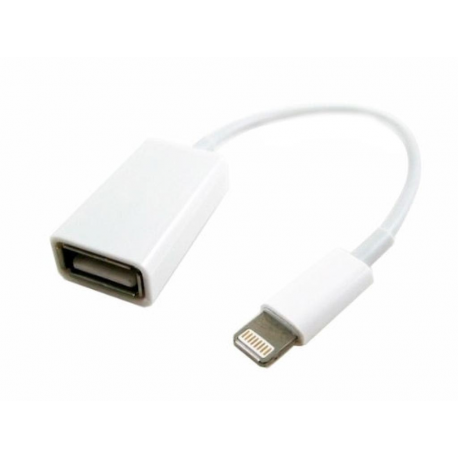 Adaptador para iPad de Lightning a USB - Blanco
