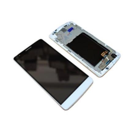 PANTALLA LCD DISPLAY + TACTIL CON MARCO PARA  G3 MINI D722 - BLANCA