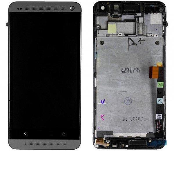 PANTALLA LCD DISPLAY + TACTIL CON MARCOPARAONE M7 - NEGRO