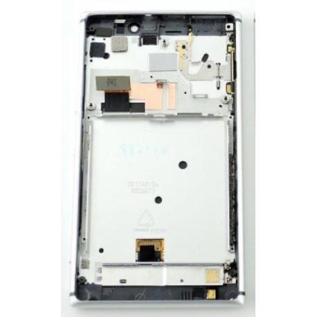 PANTALLA LCD DISPLAY + TACTIL CON MARCO PARALA 925 - PLATA