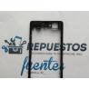 Marco Intermedio para Sony Xperia Z1 Compact Z1C M51W D5503 - Negro / Desmontaje