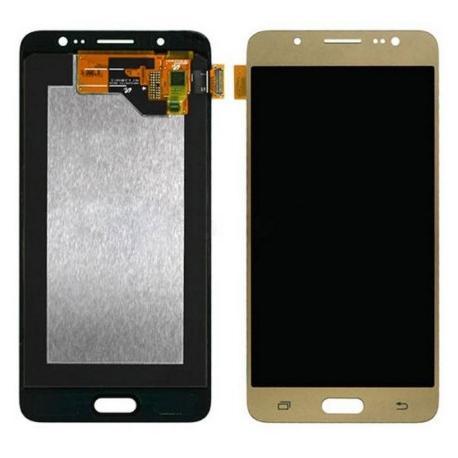 PANTALLA LCD Y TACTIL COMPATIBLE PARA SAMSUNG GALAXY J5 2016 - ORO - CALIDAD OLED