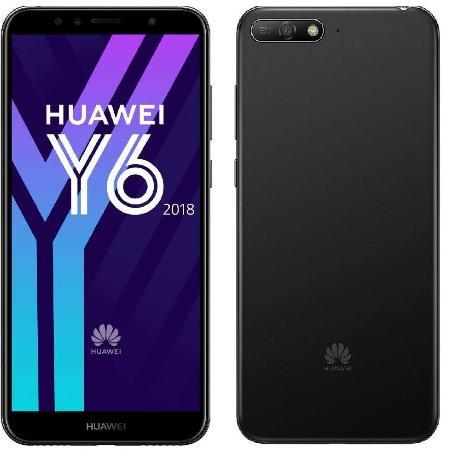 HUAWEI Y6 (2018) 16 GB DUAL SIM - NEGRO - MUY BUEN ESTADO