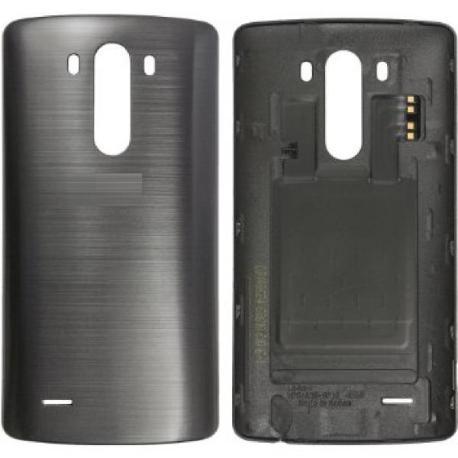 CARCASA TAPA TRASERA G3 D855 CON NFC GRIS - RECUPERADA