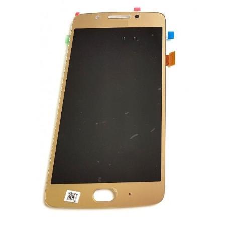 PANTALLA LCD DISPLAY + TACTIL PARA MOTO G5 - ORO