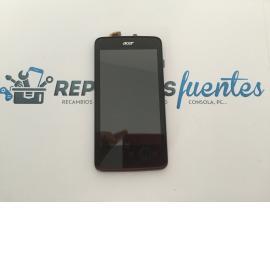 Repuesto Pantalla Lcd Display + Tactil con Marco Original Acer Liquid Z4 Negra de Desmontaje