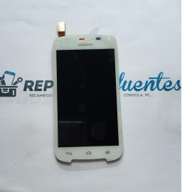 Repuesto Pantalla Tactil + LCD para Huawei Ascend Y340 - Blanco