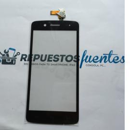 Repuesto Pantalla Tactil para Prestigio MultiPhone PAP5507 - Negro