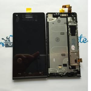 Respuesto Pantalla Lcd + Tactil con Marco Original Huawei Ascend G6 Version 3G - Negra