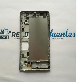Carcasa Intermedia con Lente de Camara Original Huawei Orange Gova