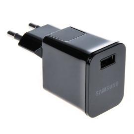 Cargador y Adaptador USB de 2A para Tablet Samsung - Negro