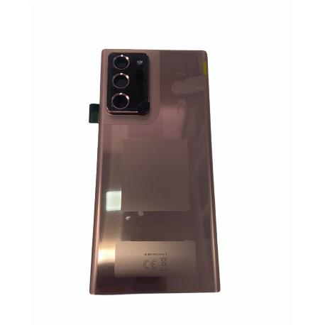 TAPA TRASERA SERVICE PACK PARA NOTE 20 ULTRA N986 CON LENTE - BRONCE