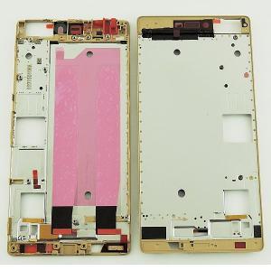 Repuesto Carcasa Frontal para Huawei P8 - Oro