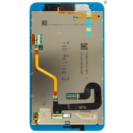 PANTALLA LCD Y TACTIL SERVICE PACK PARA TAB ACTIVE 3, T570N - NEGRA