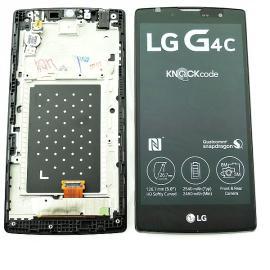 Pantalla LCD Display + Tactil con Marco Original para  LG H525N G4c, G4 Compact - Negra