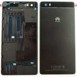 Carcasa Tapa Trasera de Bateria para  Huawei Ascend P8 Lite - Negra