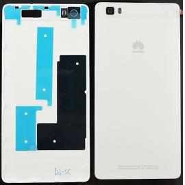 Carcasa Tapa Trasera de Bateria para Huawei Ascend P8 Lite - Blanca