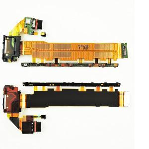 Flex de Carga Micro USB + Botones Encendido y Volumen Original para Sony Xperia Z3 Plus, Z4 E6553,E6533